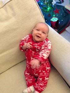 Jessah's first Christmas!