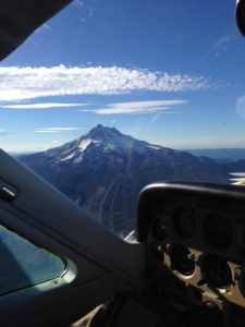 Mt.Jefferson from 8,500ft
