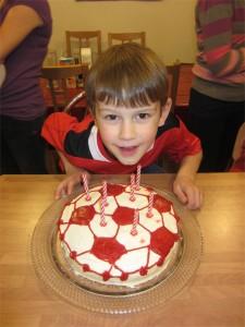Joel turned seven years old in November!