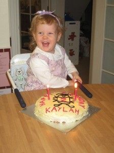 Miss Kaylah was 2 on February 1st.  What a delight this little girl is to our whole family!