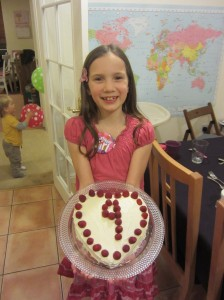 Our sweet Mariah turned 9 on February 19th.  We love her kind heart and very sparkly smile.
