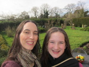 I decided to start a tradition of taking our girls away overnight for a mother-daughter time when they turn 13.  Han and I had a really special time together . . we stayed at a B&B, went out for a meal and then went shopping the next day.