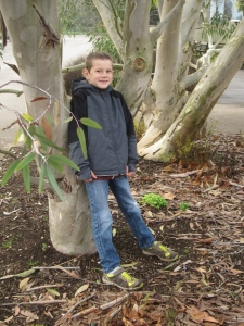 Birthday boy - eight years old!