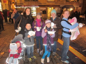 We had such a fun trip out to Bath, enjoying the Christmas Market, hearing organ music in the Abbey . . .