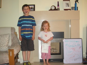On June 6, Joel did a little presentation in honour of the D-Day 71 anniversary. Kaylah helped of course!