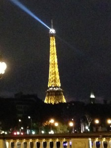 And one more view . . . our foray into Paris took us around 3 hrs . . . traffic was awful but it was fun to see these famous sights.