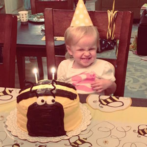It was so fun celebrating Elly's second birthday! She is such a cheerful little girl with a lot of spunk!