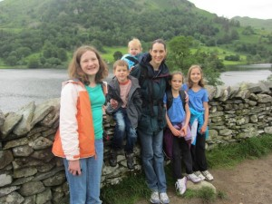We got to spend a couple days in the Lake District with my aunt.  We did a hike around Rydal Water.